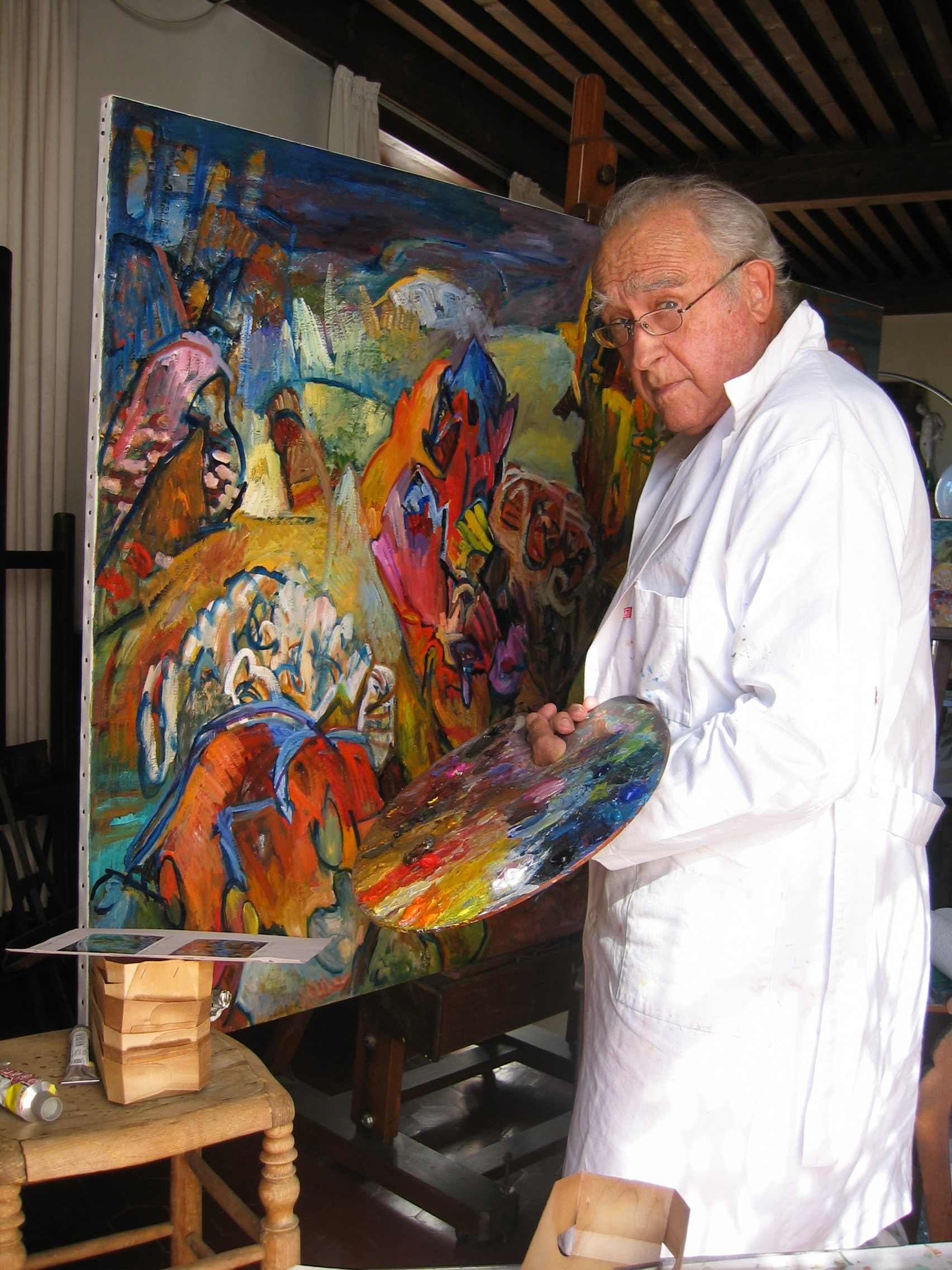 Jean dubrusk artiste peintre nouveau site officiel for Biographie artiste peintre